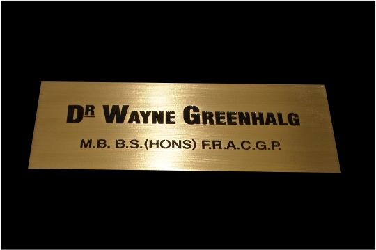 Brass Engraving 1